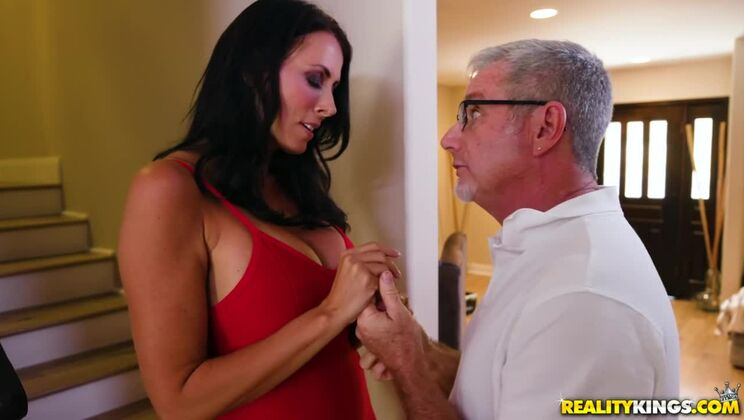 Teaching Her To Suck Cock