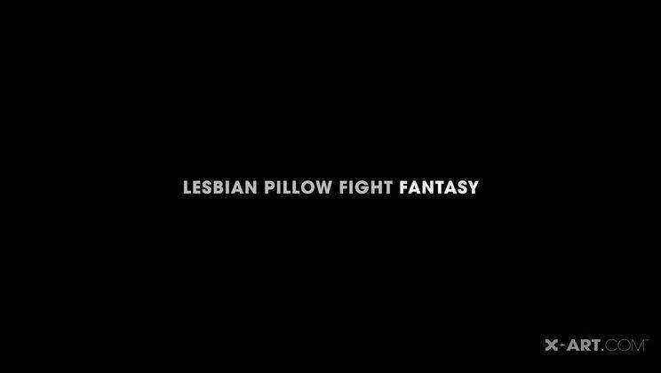 Lesbian Pillow Fight Fantasy