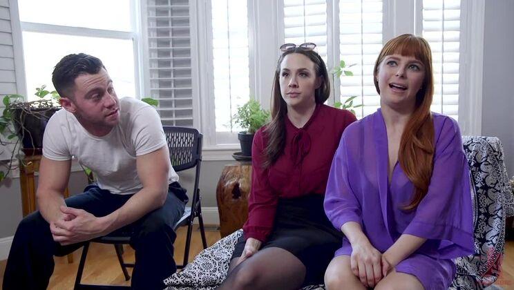Step-Mother Chanel Preston Fucks Son & His Cheap Whore Girlfriend!